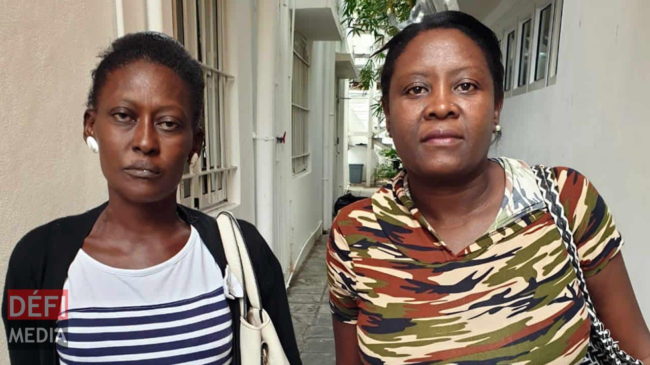 Perrina Solange et Hélène Lasile