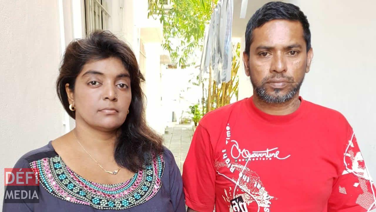 La famille Hansmuddy lance un appel à solidarité au public.