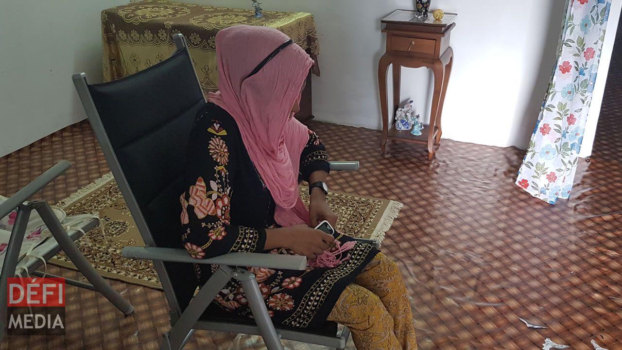 Waheeda, une mère désespérée.
