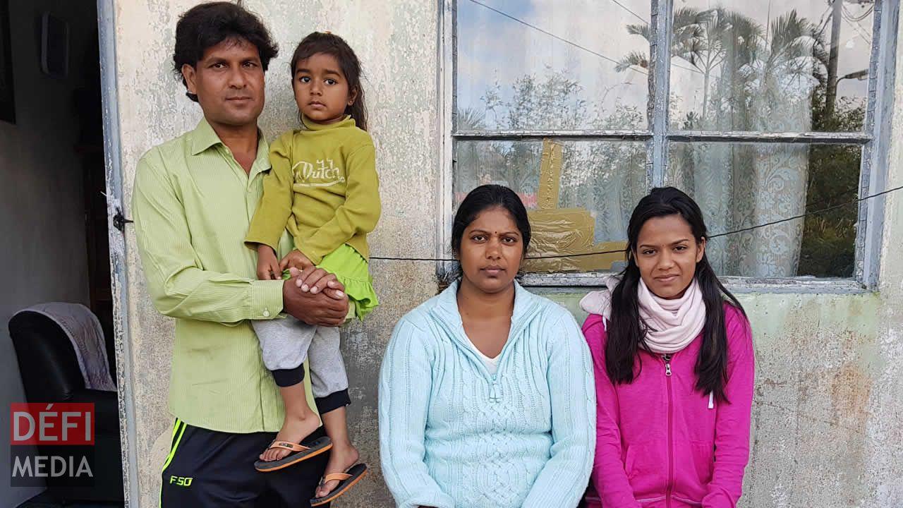 Roopsha et sa famille.