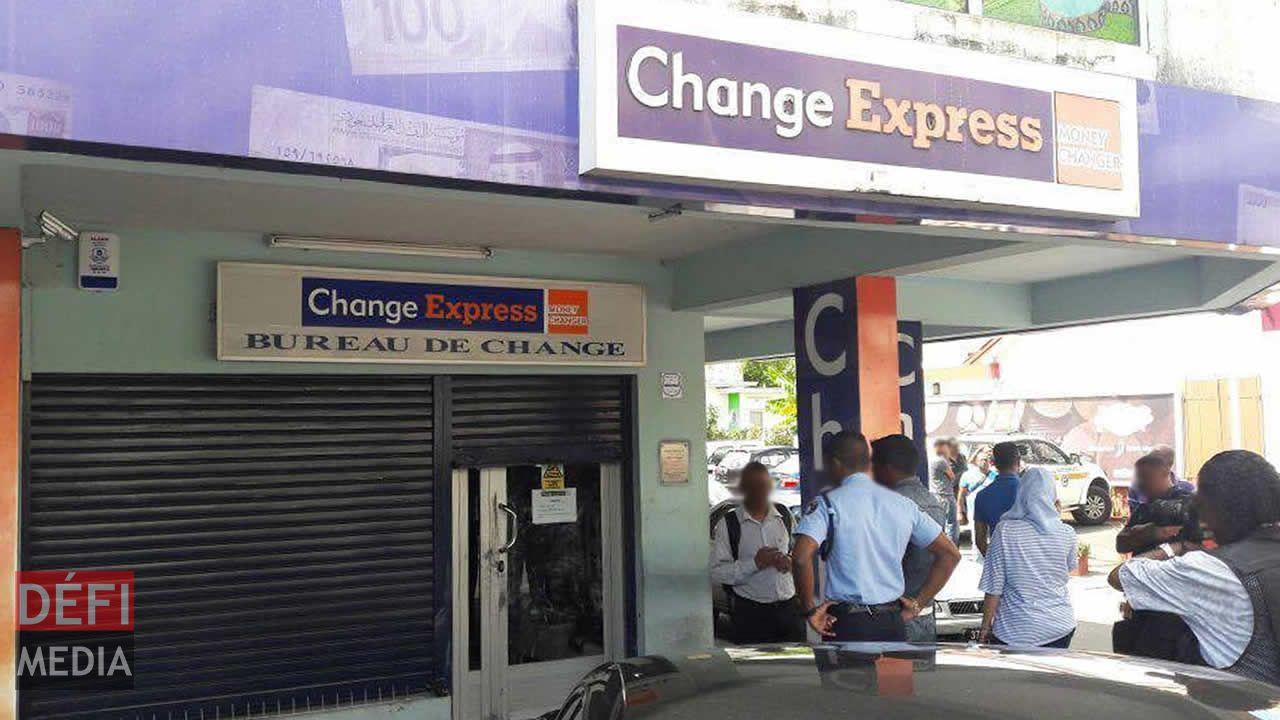 Change Express de Quatre-Bornes