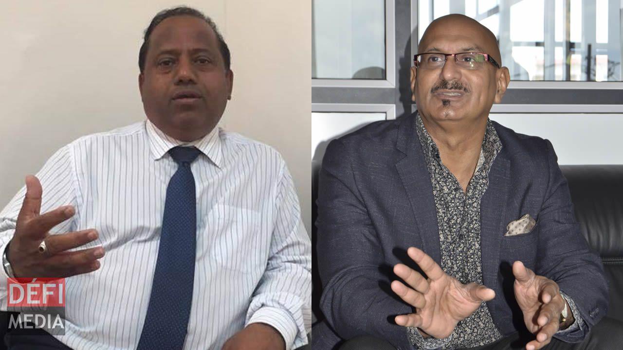 Sudesh Rughoobur  et Bashir Jahangeer