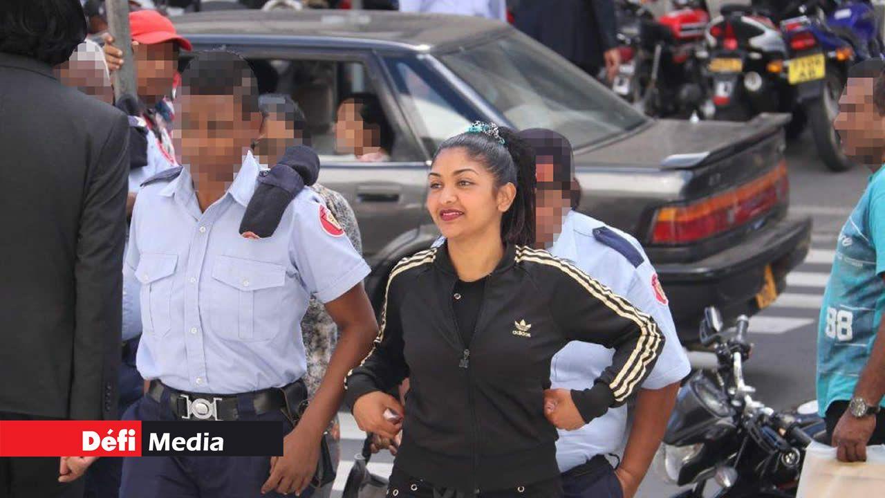 La jeune femme avait été arrêtée le 23 mai 2018 par l'Adsu.