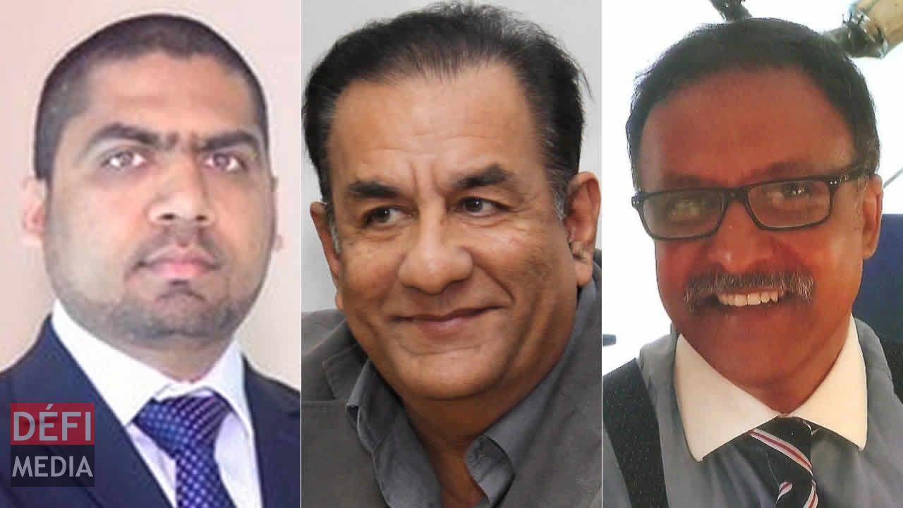 Samade Jhummun, Kamal Hawabhay et Penny Hack