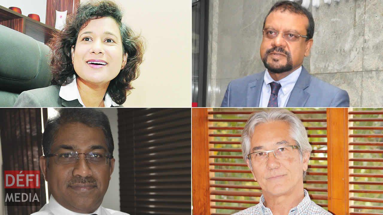 Vijaya Sumputh, Megh Pillay, Gaëtan Siew et Sen Ramsamy.