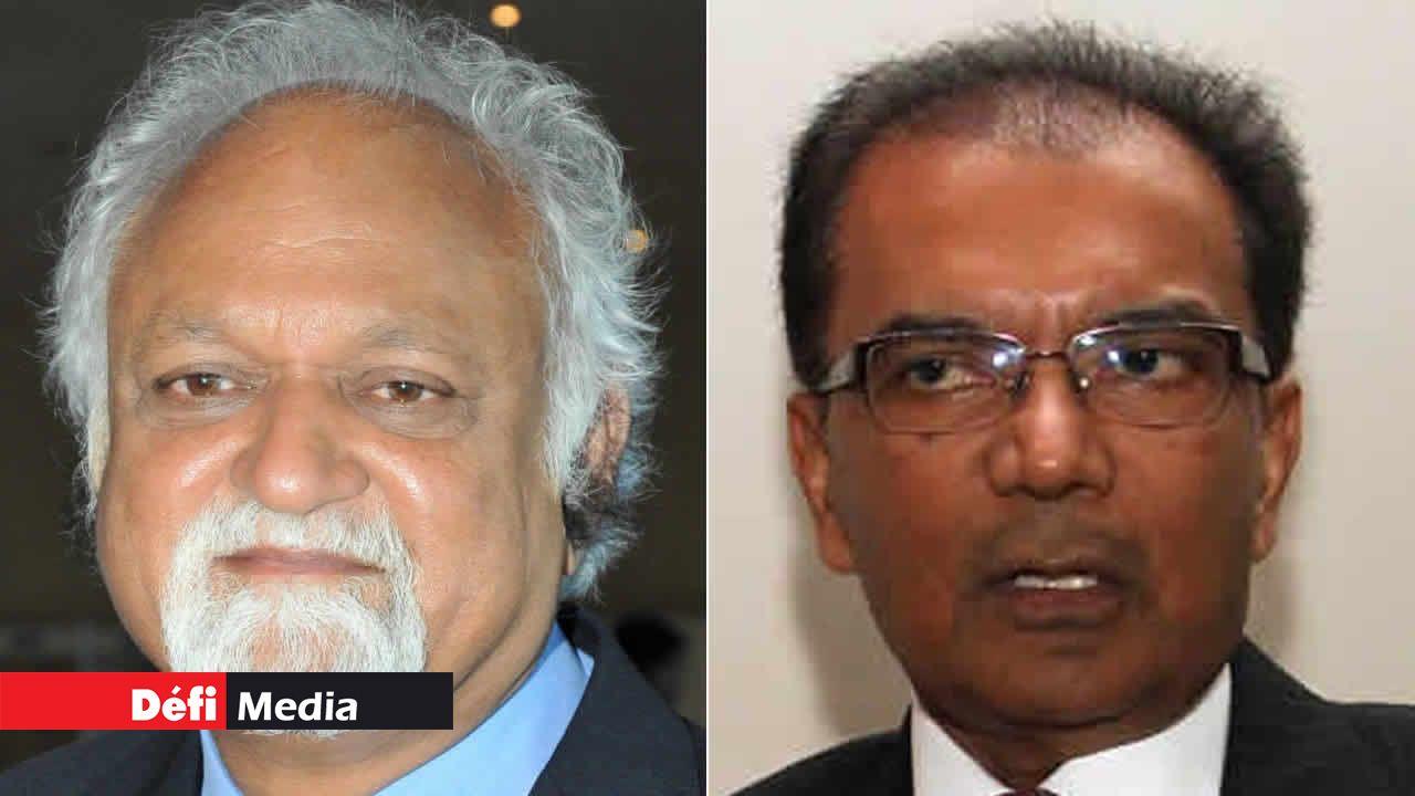 Vijay Makhan et Milan Meetarbhan.