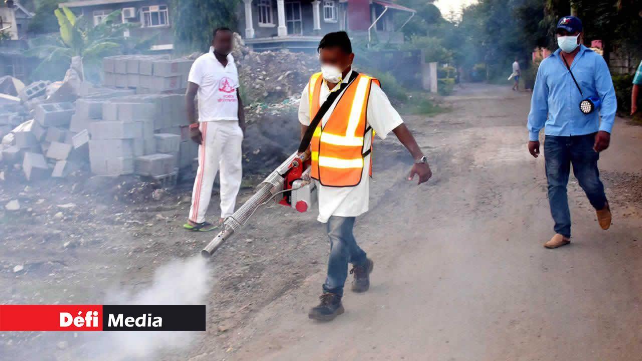11 cas à Port-Louis — Dengue