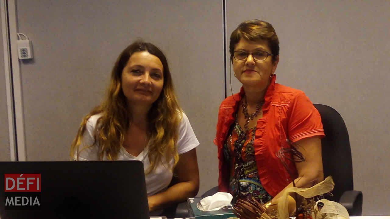 Myriam Castagne et Nathalie Faucher