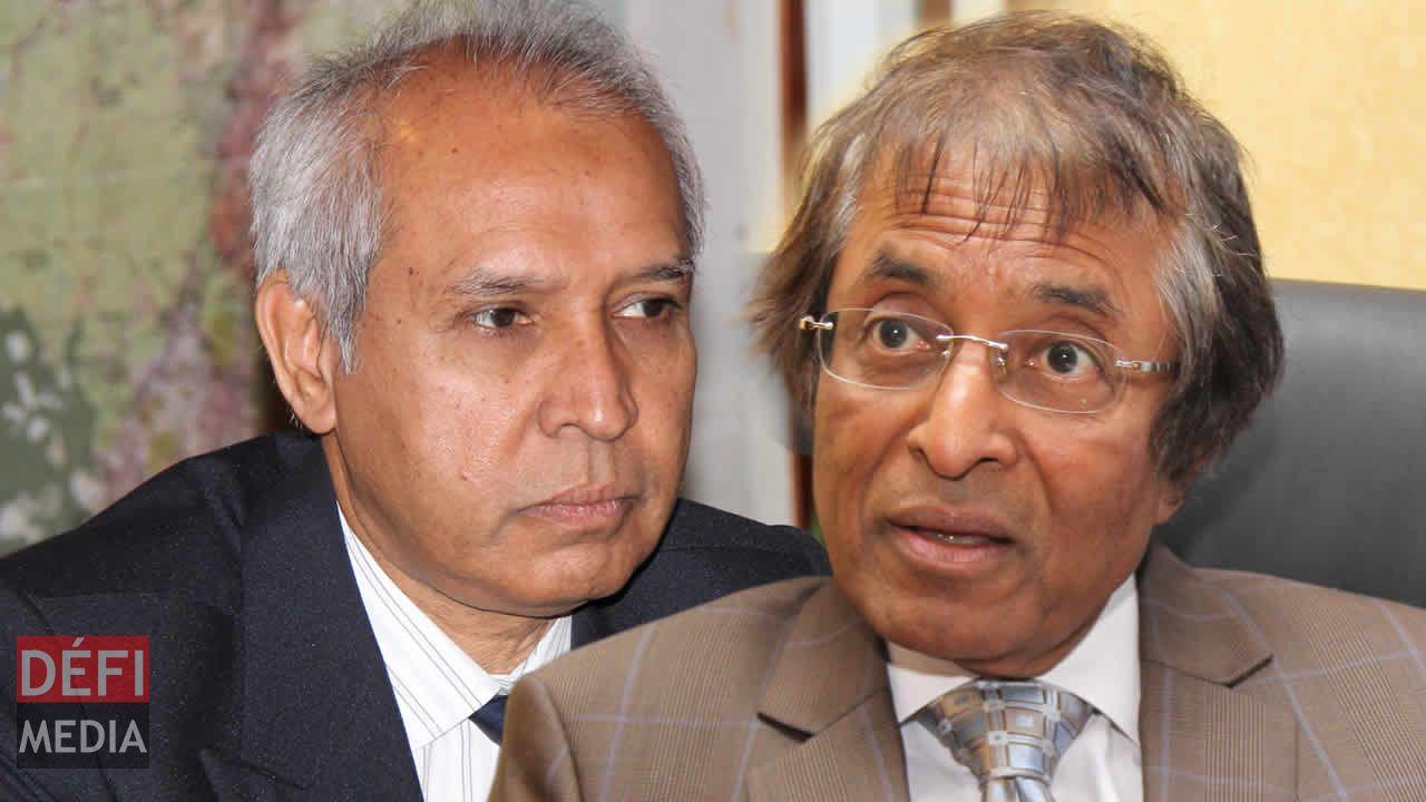 Anwar Husnoo et Anil Gayan