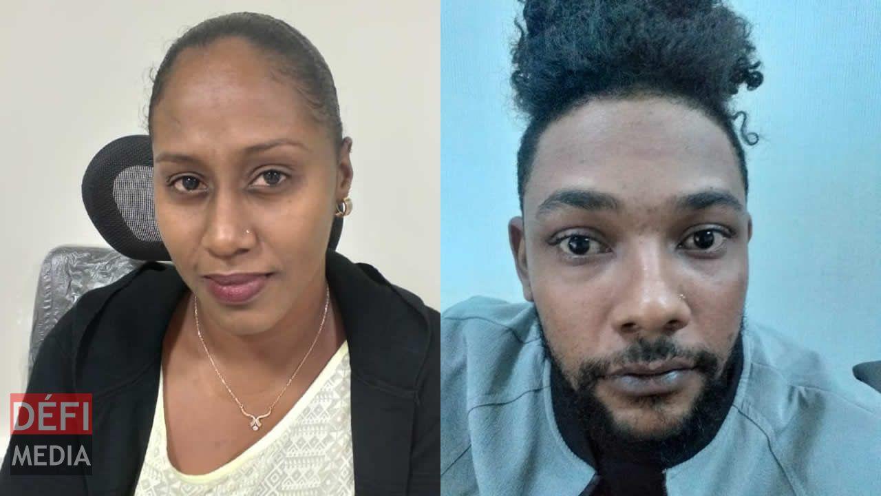 Deux suspects arrétés : Christina Léonce et Bryan Mohabeer.