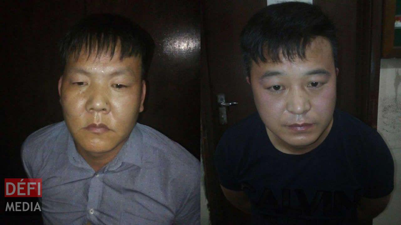 Les deux ressortissants chinois avaient commis leur forfait à bord d'un avion d'Air Mauritius.