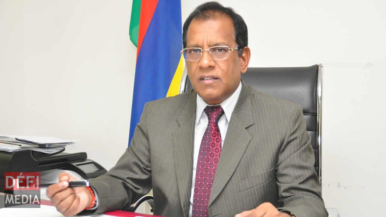 Le ministre Sunil Bholah.