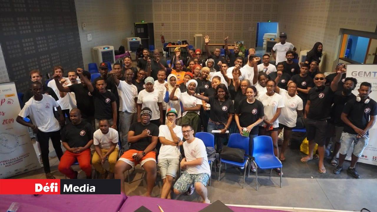 Les participants de la finale régionale en 2019 qui s'est tenue à Mayotte.