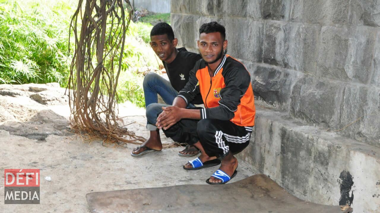 Les deux frères Mootoosamy, Fabrice et Ansley.