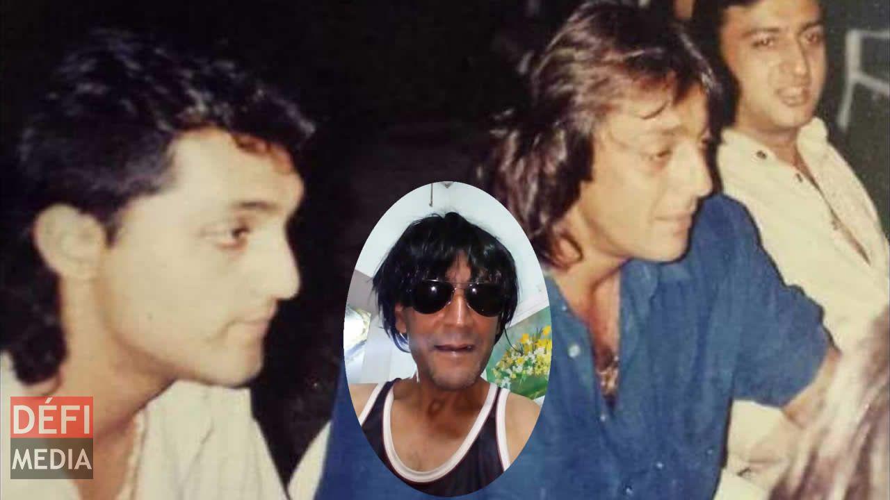 Vishal Joosery en compagnie de Sanjay Dutt. (En médaillon, Parwez)