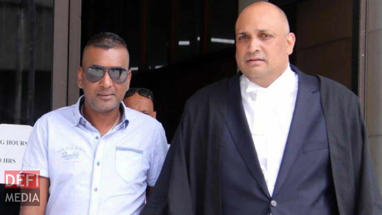 Sada Curpen et son avocat, Me Assad Peeroo.