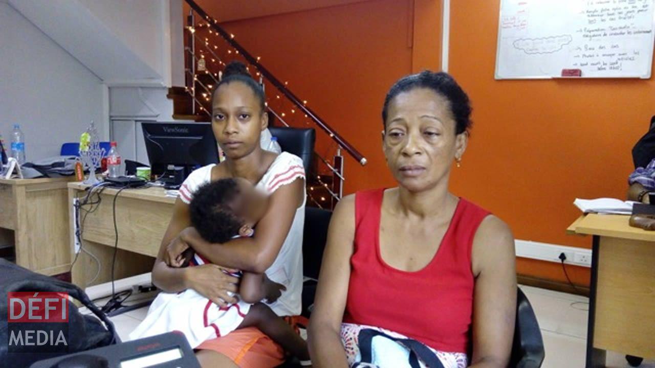 Marie-Nadège et sa seconde fille vivent un véritable calvaire.
