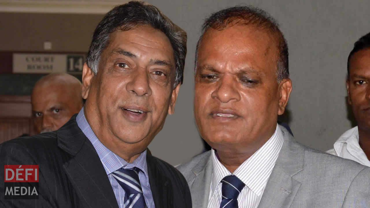 Siddick Chady et Prakash Maunthrooa