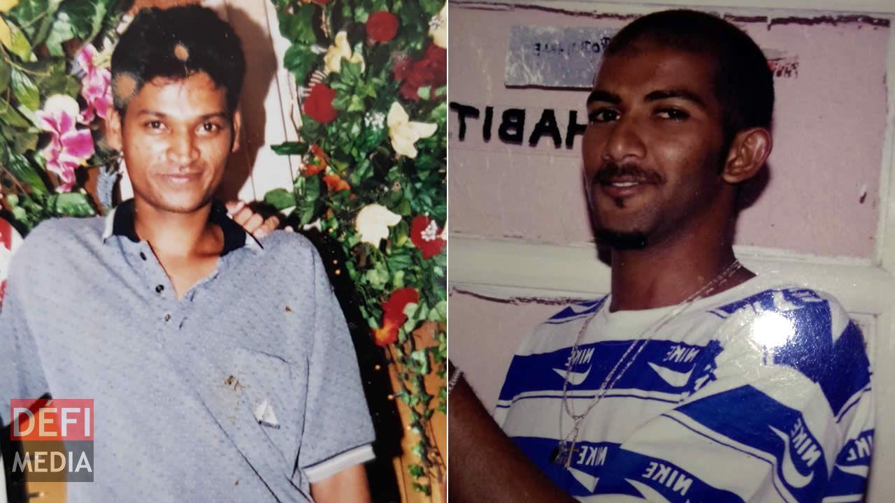Doliman Varma Dabysing, la victime et Jocelyn Frédéric Caprice, le suspect.
