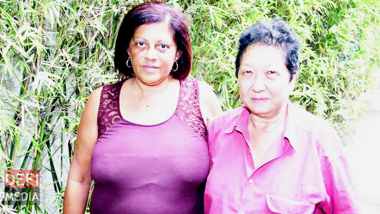 Kathleen Lebon et Anne-Marie Li Wai Pang