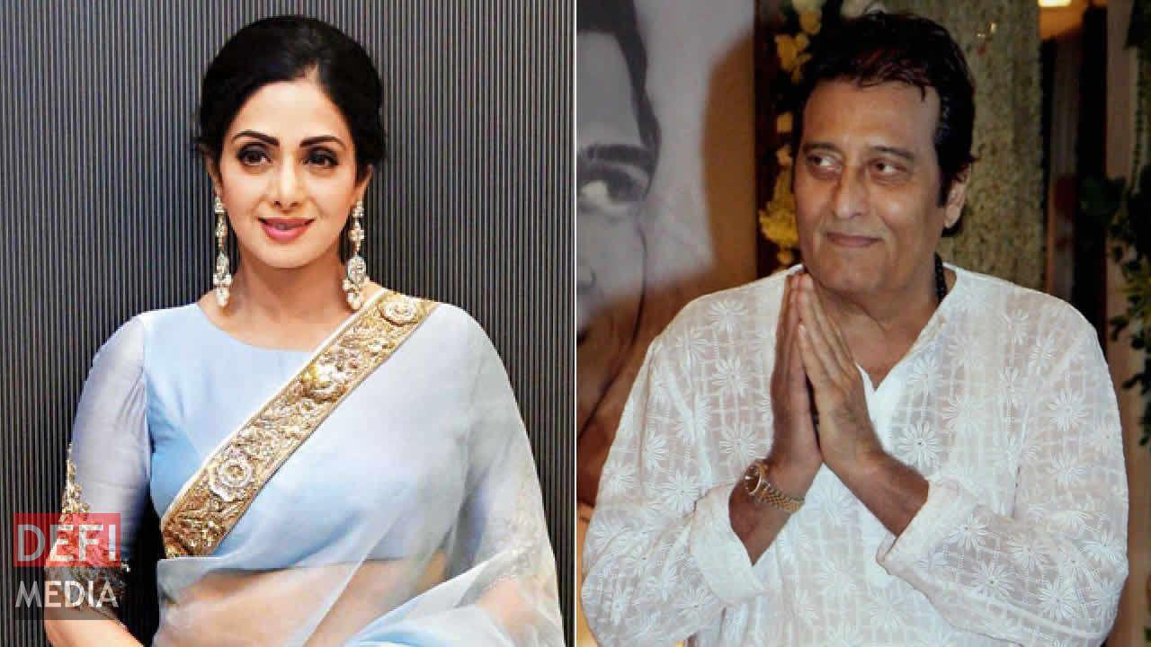 Sridevi et Vinod Khanna.