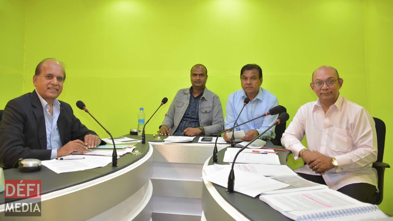 Madan Dullo et Étienne Sinatambou étaient les invités de Nawaz Noorbux et Jugdish Joypaul, le samedi 18 août.
