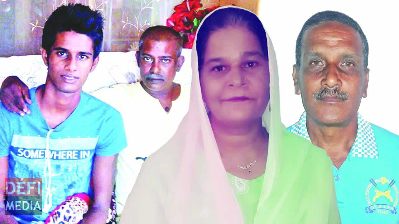 Ashish Ruchoya, Rajkumar Ruchoya, Shamshad Mungly et Benoît Sullivan