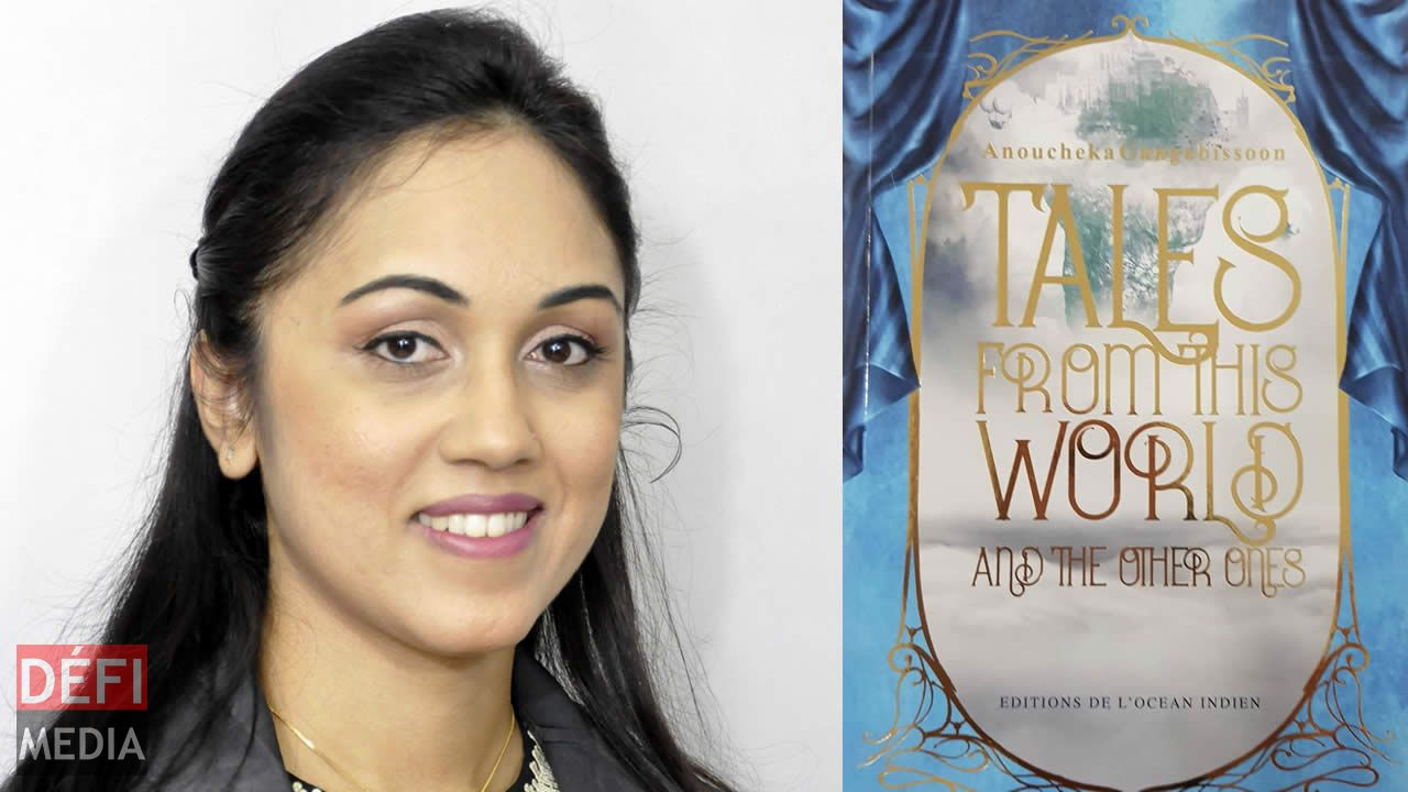 Anoucheka Gangabissoon a lancé son livre «Tales from this world and the other ones».