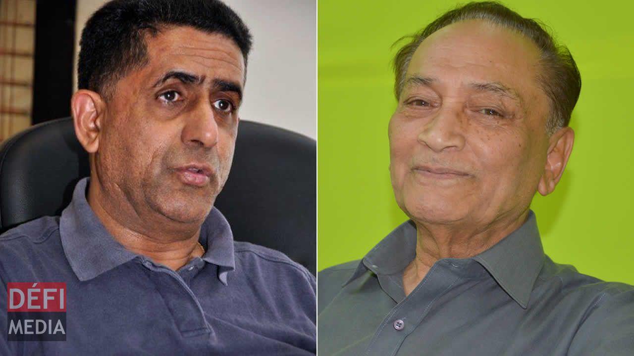 Mes Rishi Pursem (à g.) et Yousuf Mohamed.