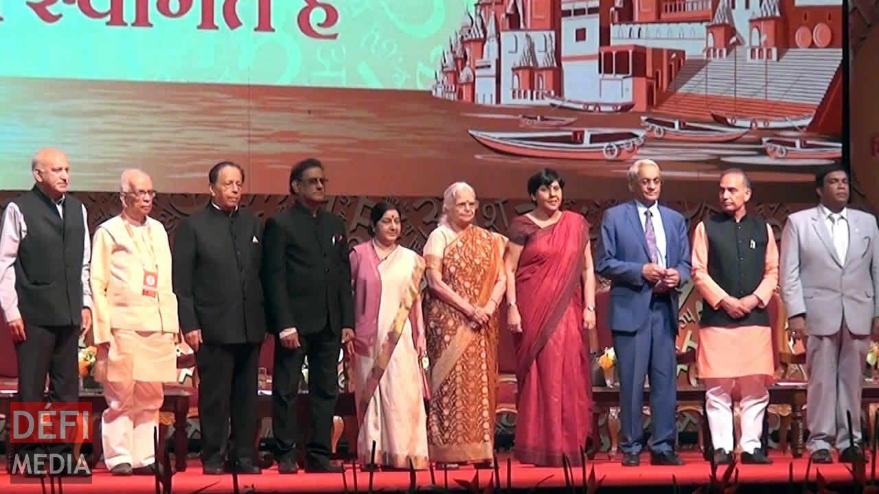 Clôture de la 11e World Hindi Conference