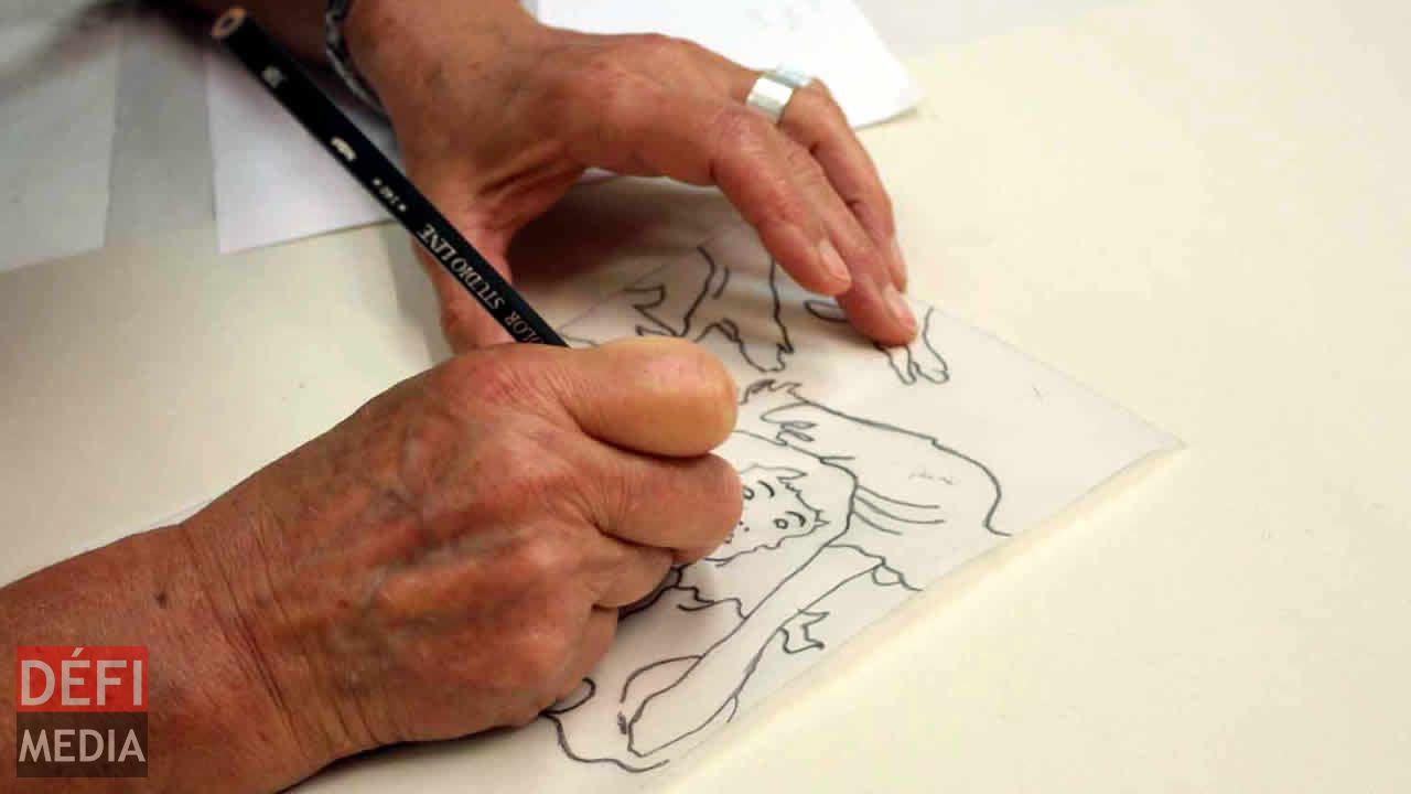 Métier d'illustrateur de livres