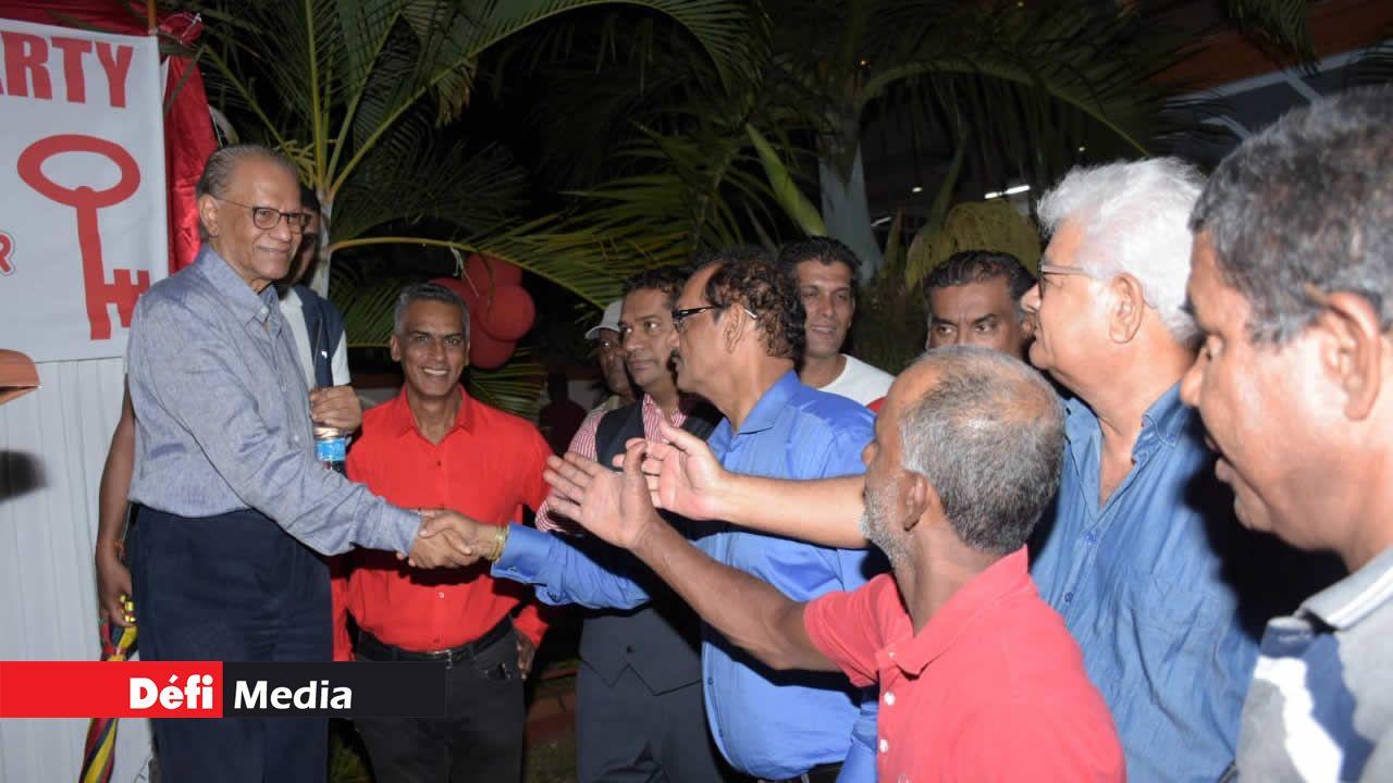 Le leader du PTr annonce qu'il reprend son bâton de pèlerin  dès janvier pour mener  une campagne d'explications  sur la pétition électorale.