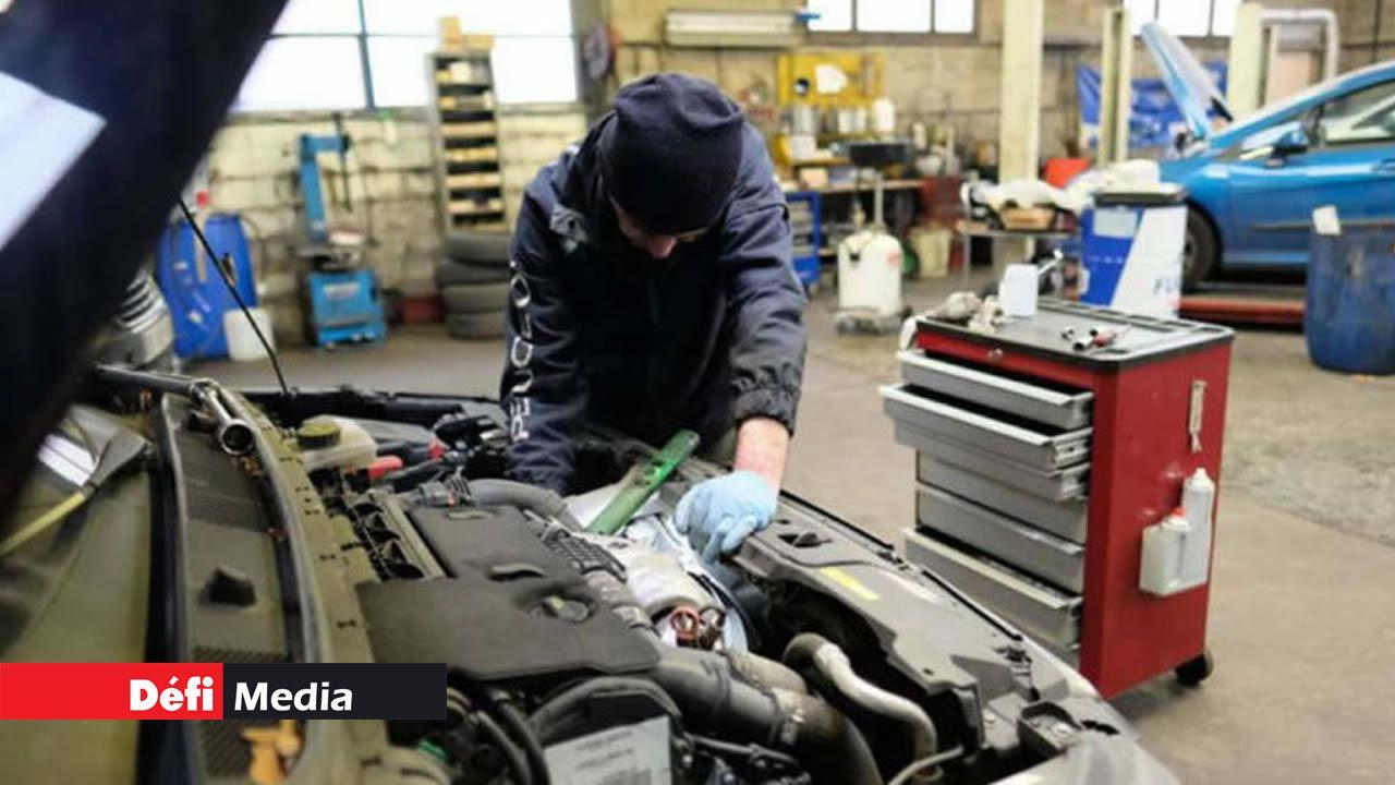 La garantie du véhicule couvre uniquement les défauts d'origine.