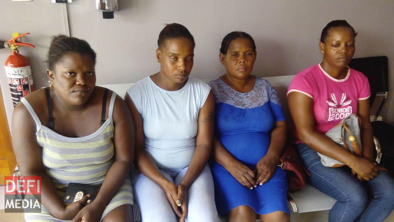 Ces mères de famille qui connaisent bien des problèmes aux Résidences Lumière.