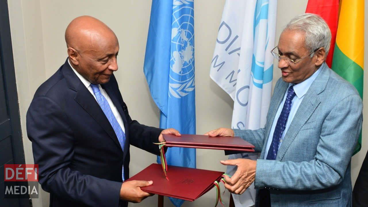 Signature of Cooperation  Framework on Peace and Security