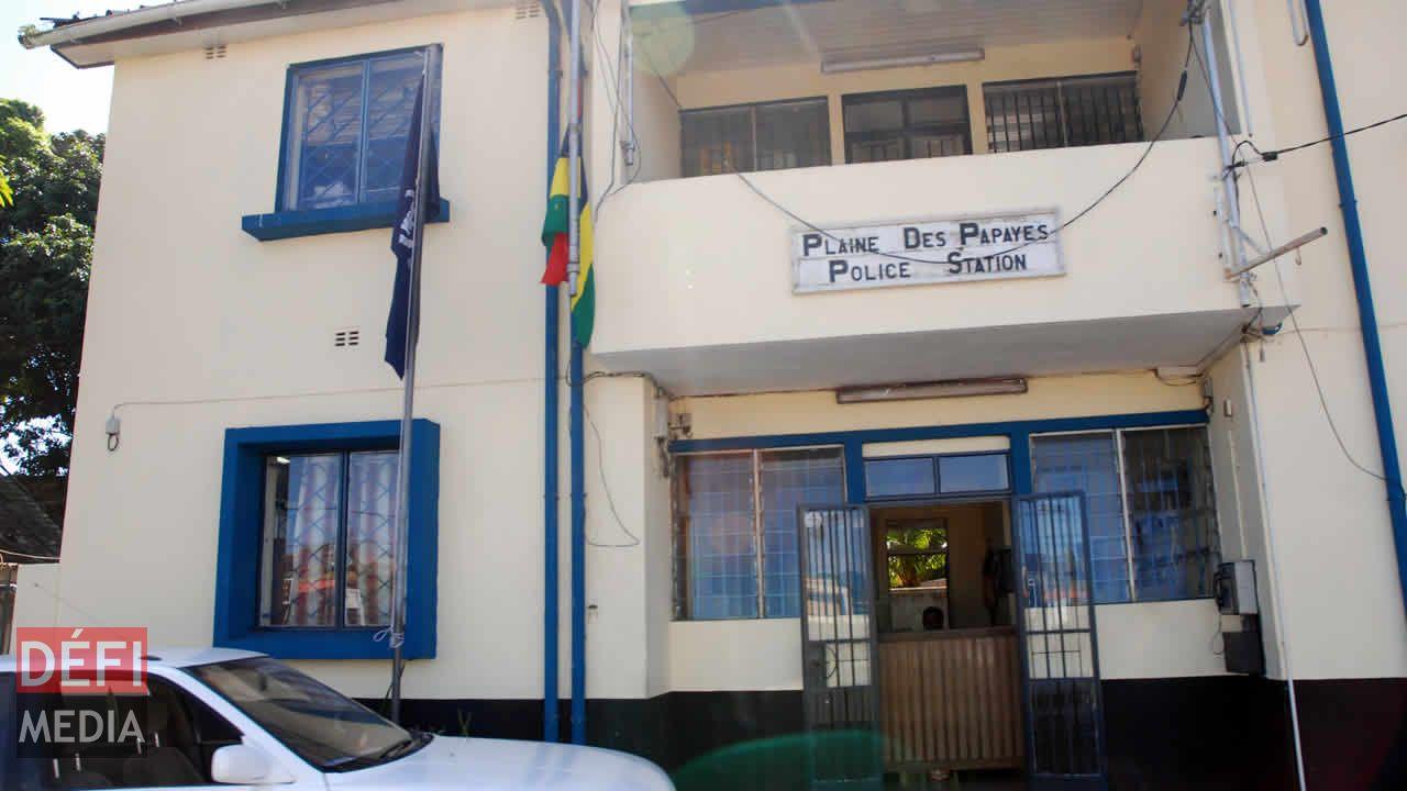 La police de Plaine-des-Papayes
