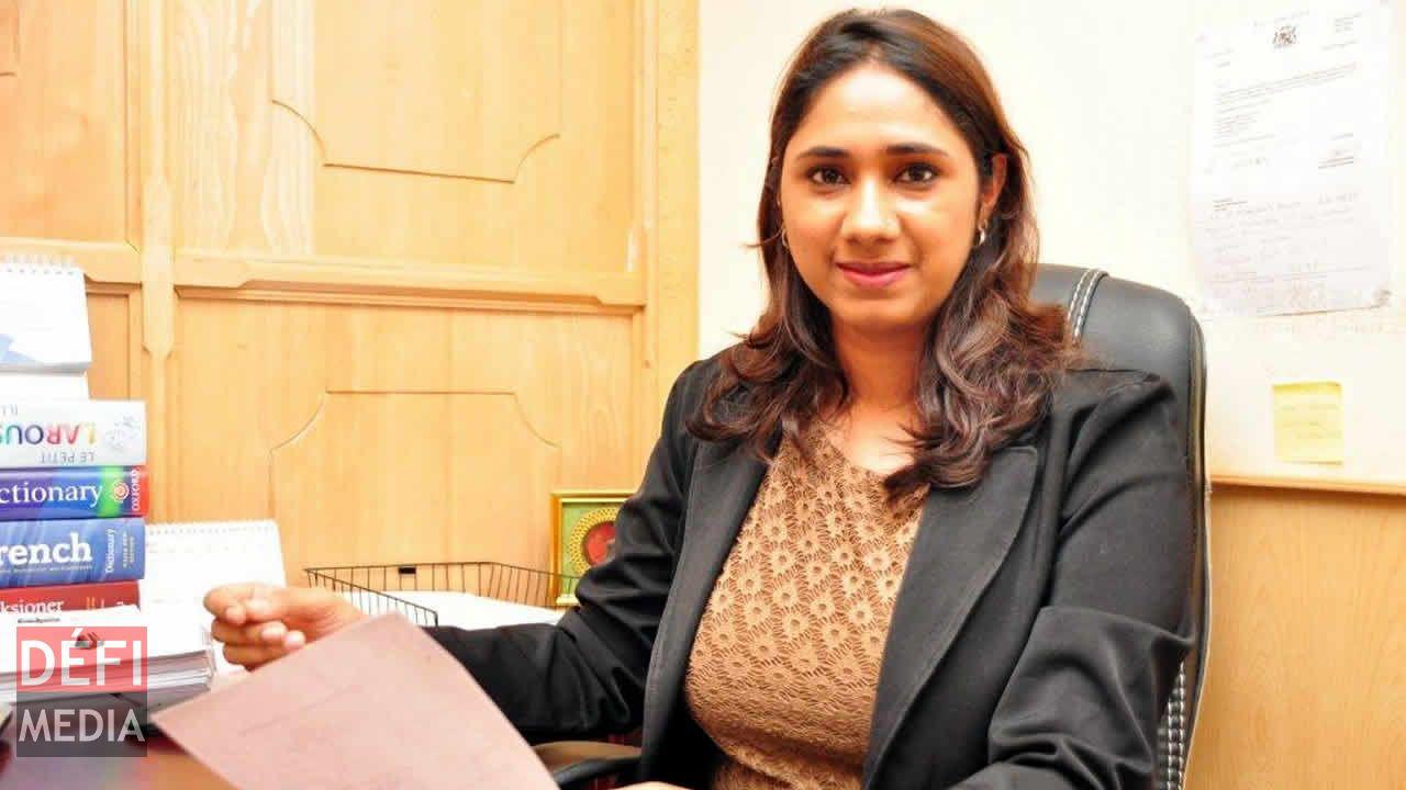 L'avocate Zareena Tawheen Choomka.