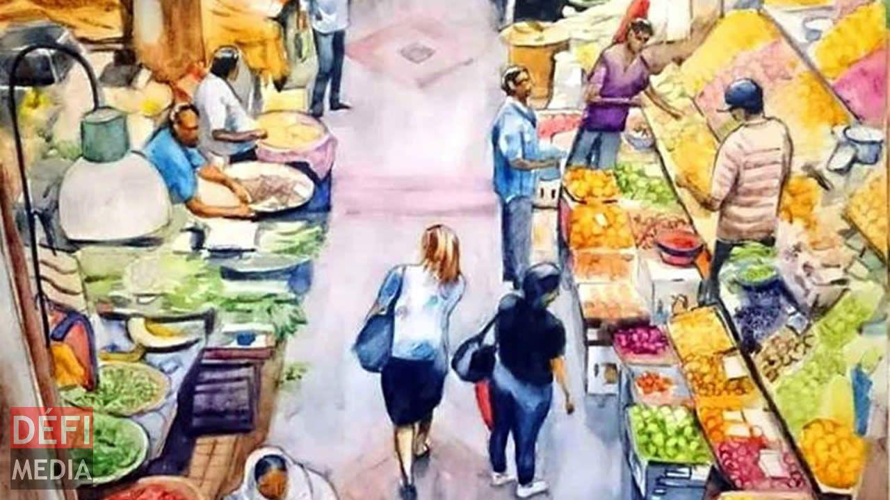 Exposition sur le Bazar