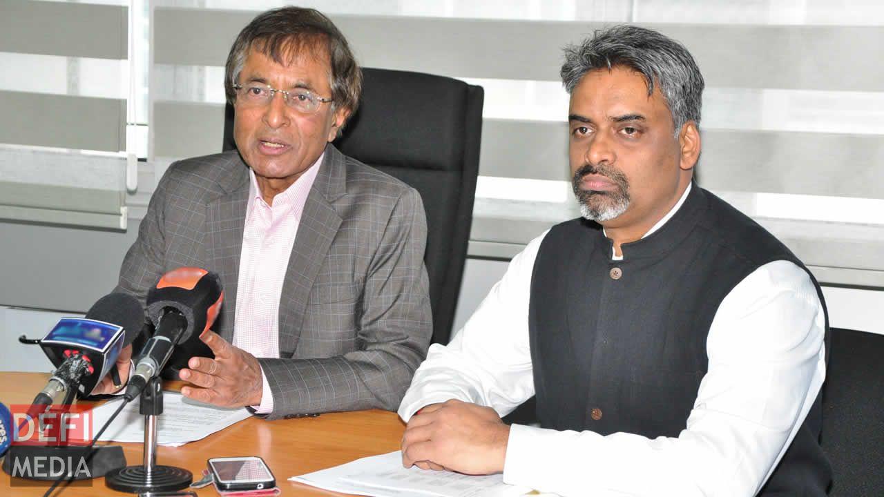 Anil Gayan et Maneesh Gobin.