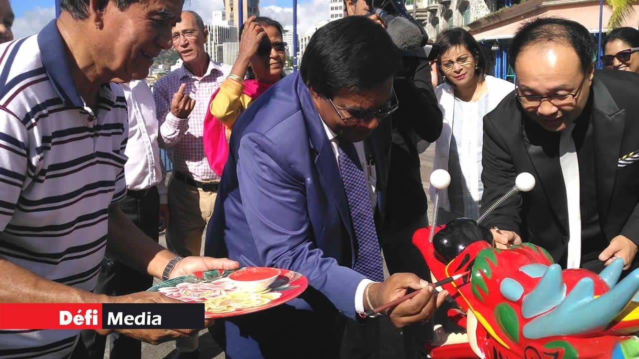 L'ambassade de Chine à Maurice a fait don de cinq bateaux cette année.