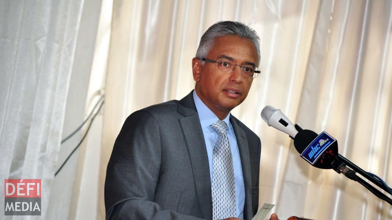 Le Premier ministre Pravind Jugnauth.