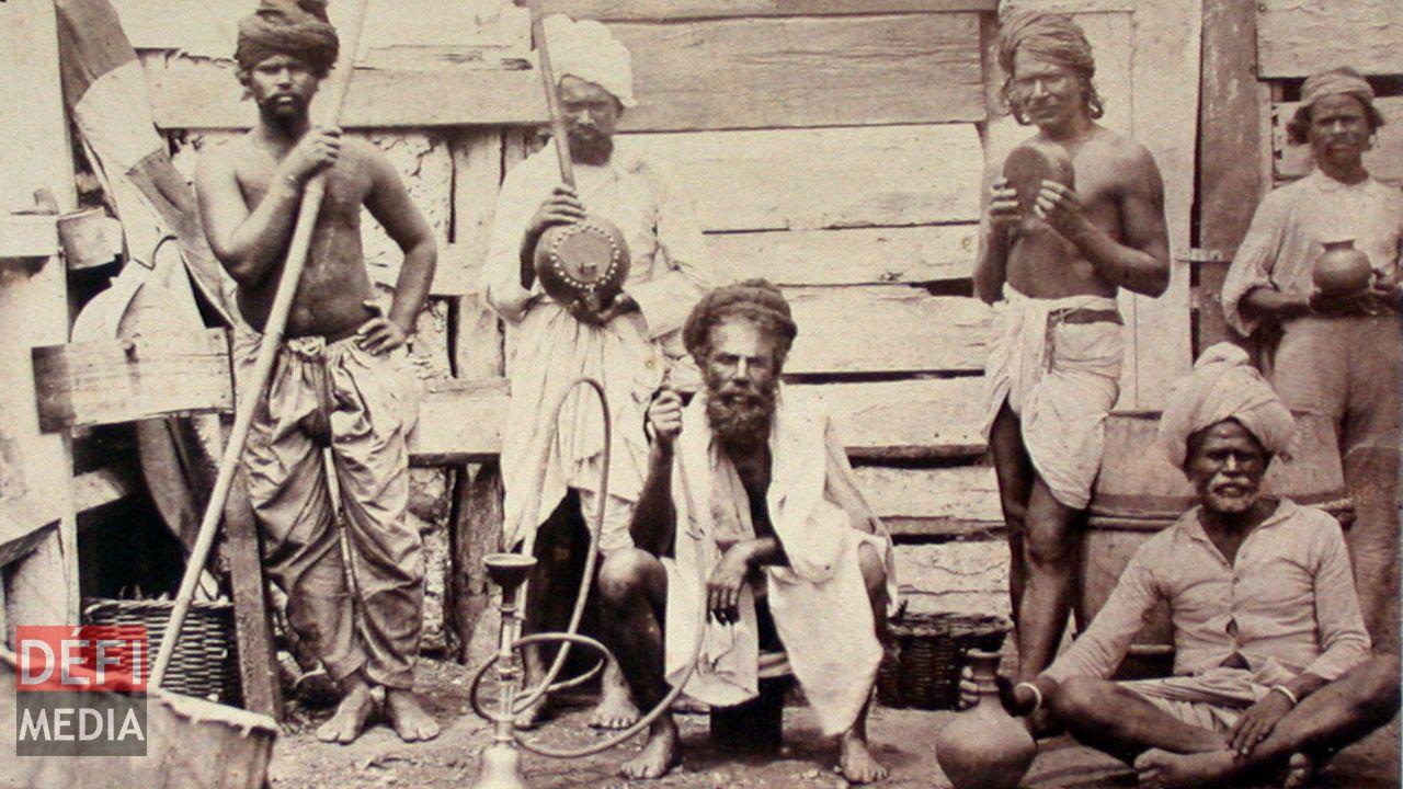 Des immigrants en 1857.