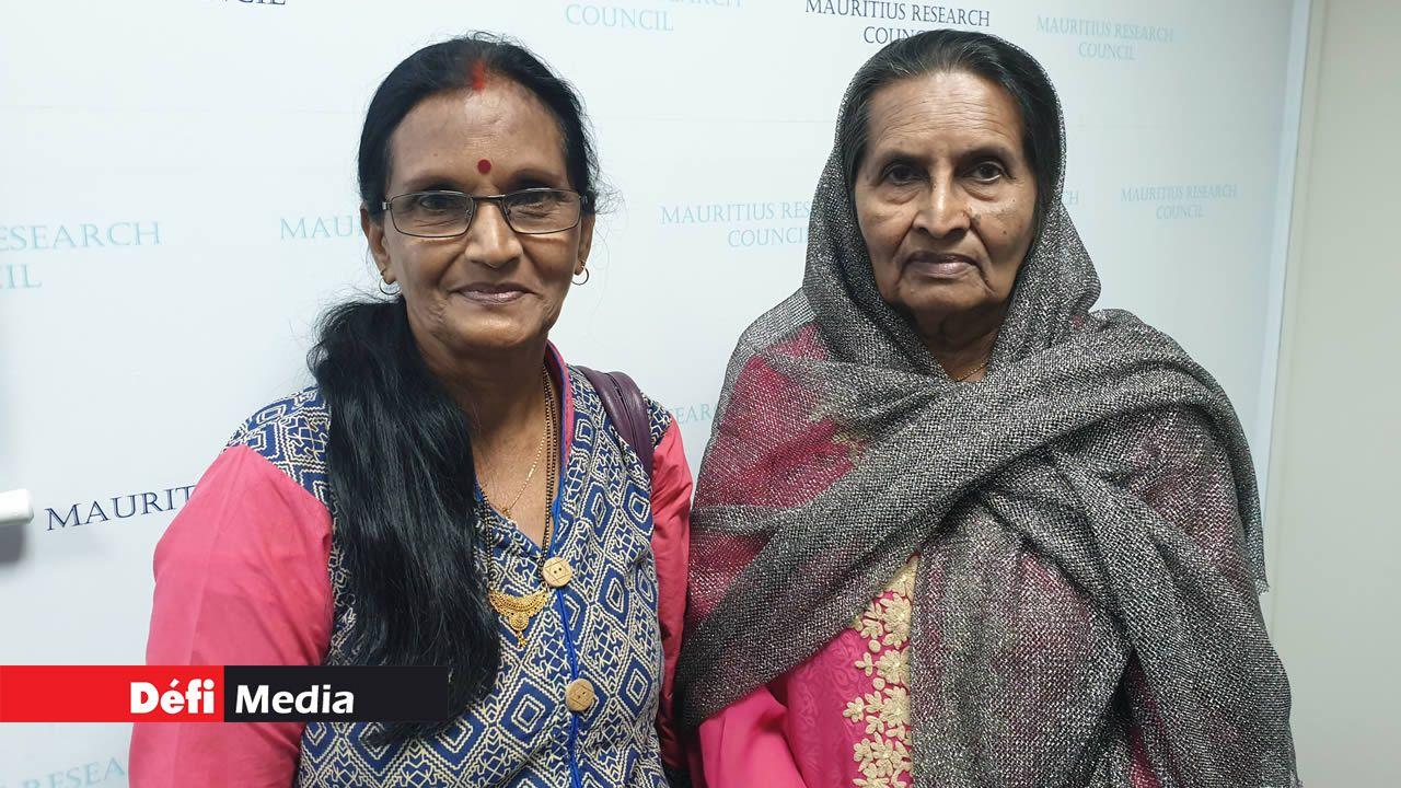 Devika Seebaruth et Abbass Mamode