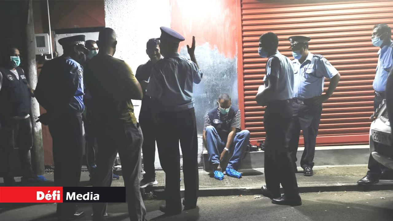 Des policiers ont été mandés sur place samedi soir