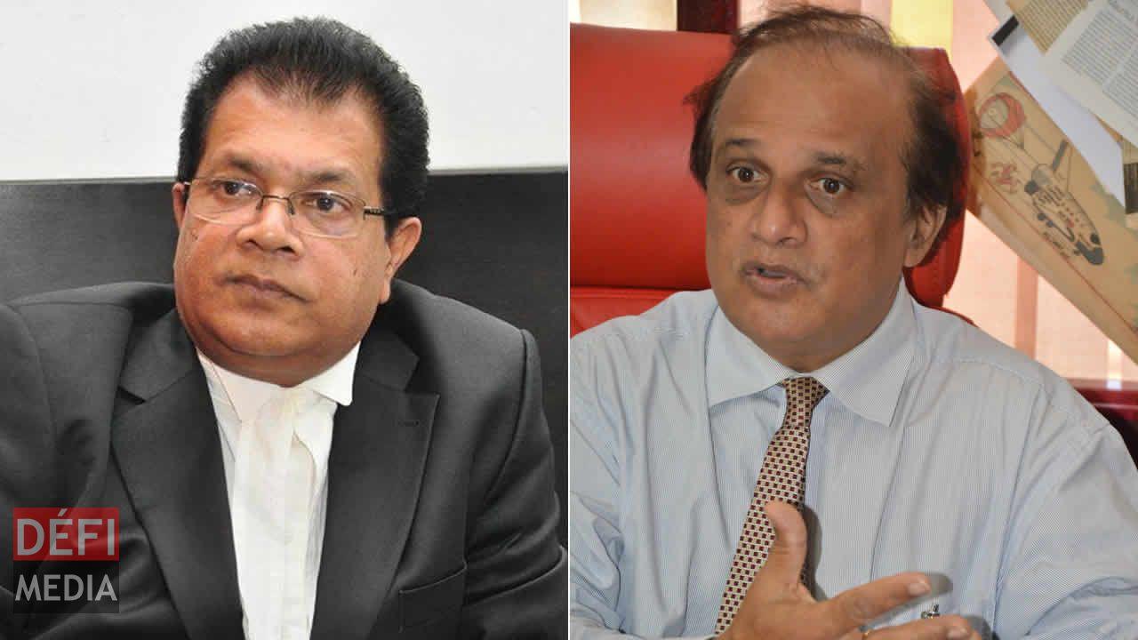Dev Ramano et Ajay Daby.