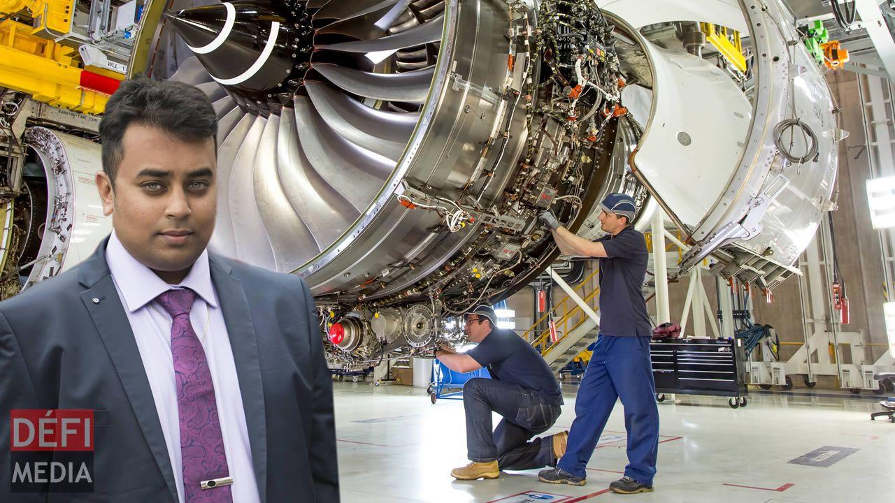 Abhishek Sadaphul est fier d'avoir eu l'occasion de travailler sur ce moteur qui équipera l'Airbus.