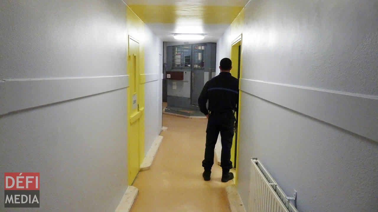 France: Villepinte, la prison