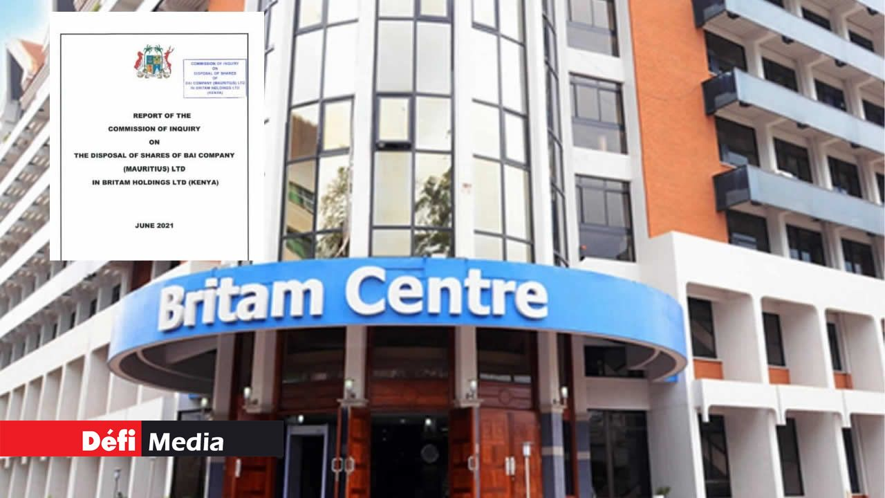 Rapport de la Commission d'enquête sur Britam : voici les 31 recommandations de l'ex-juge Domah et de ses assesseurs