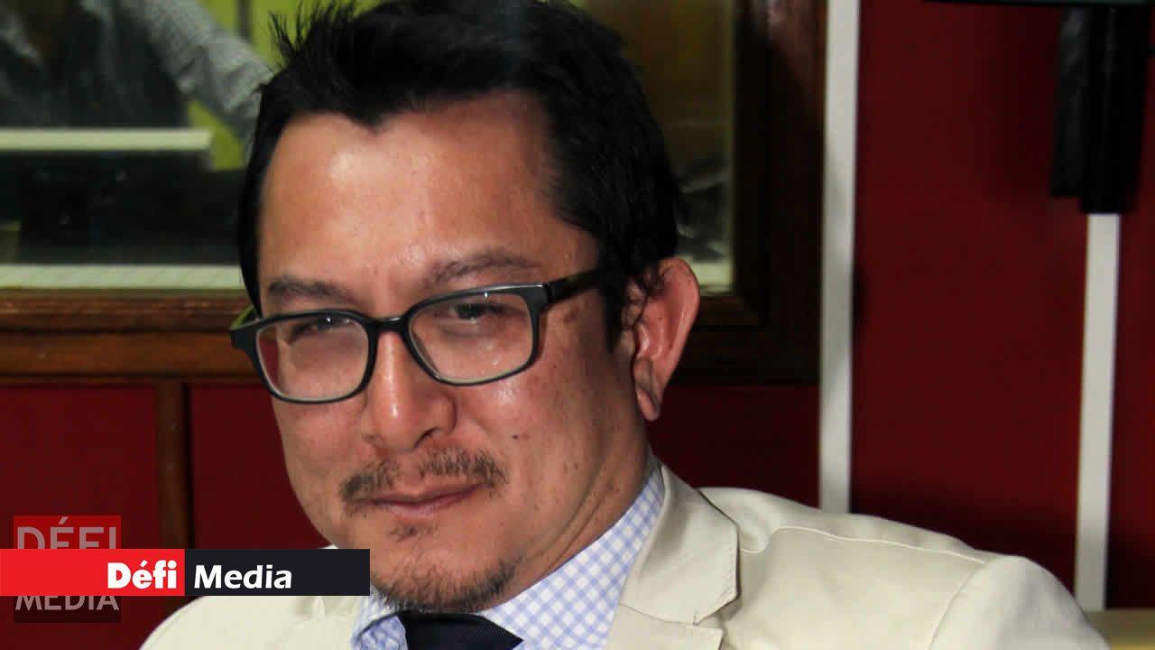 L'avocat Dick Ng Sui Wah.