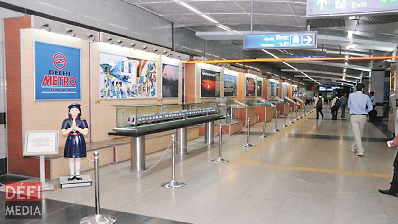 Delhi Metro Museum:South Asia's first modern metro museum